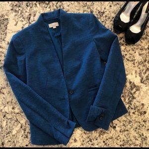LOFT Suit Jacket / Blazer, size 0, dark blue